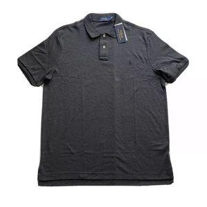 Polo Ralph Lauren Soft Touch Grey Golf Polo Shirt